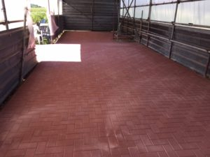 Message from Bob Ryan the chairman about the new flooring in the shelter 2