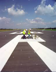 Message from the Alans - Runway Marking 1