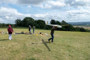 Members flying at Thurnham 5