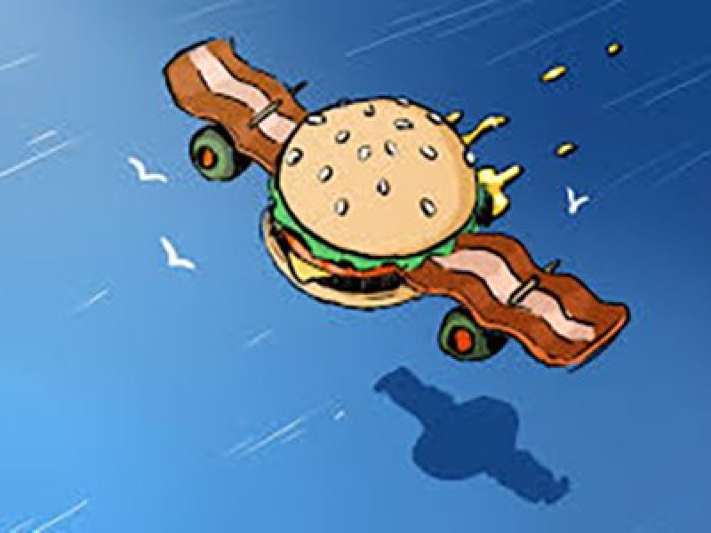 plane-burger